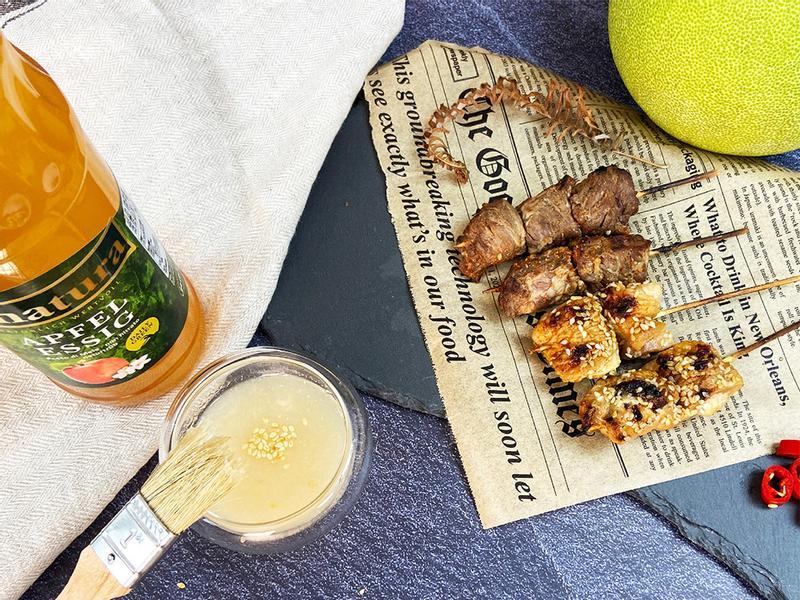 中秋烤肉清爽醬料-柚香蘋果醋醬