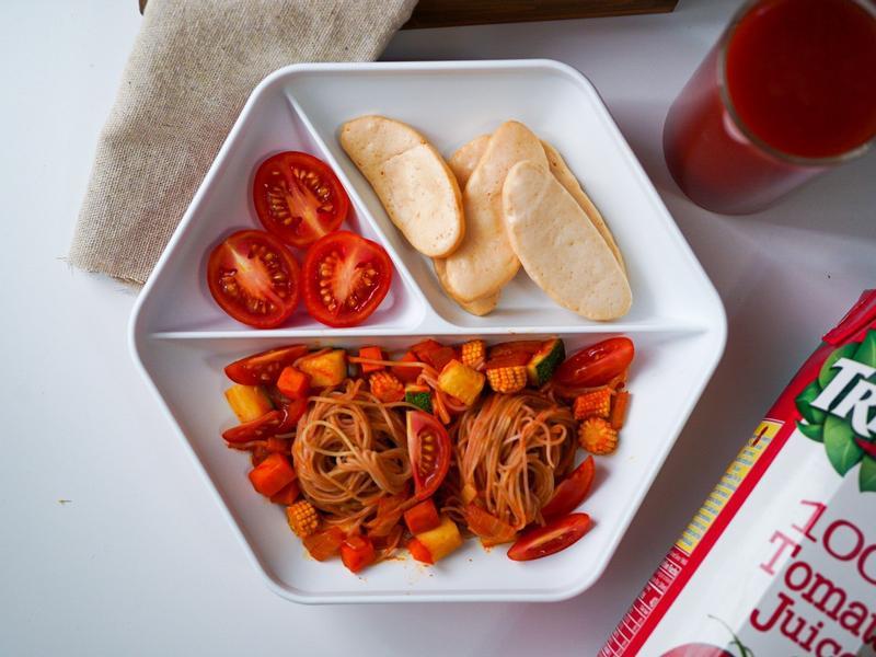 [寶寶副食品]寶寶蕃茄義大利麵