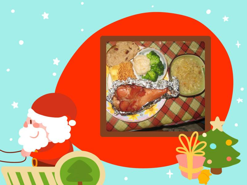 [金采食光聖誕Party]簡易聖誕火雞套餐