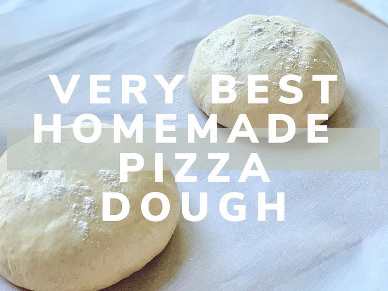 超簡單完美手工披薩麵團