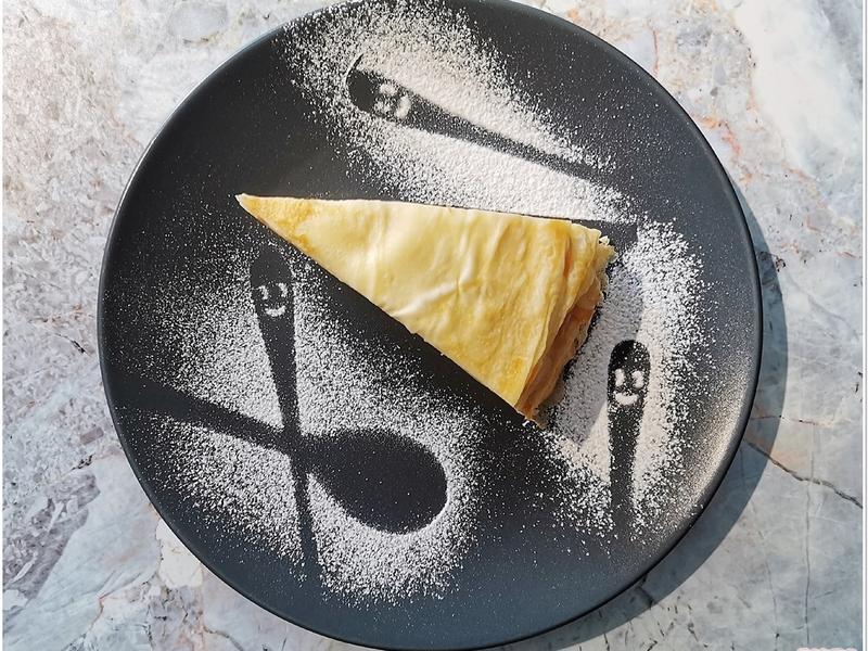 法式原味千層蛋糕 (Lady M版本)