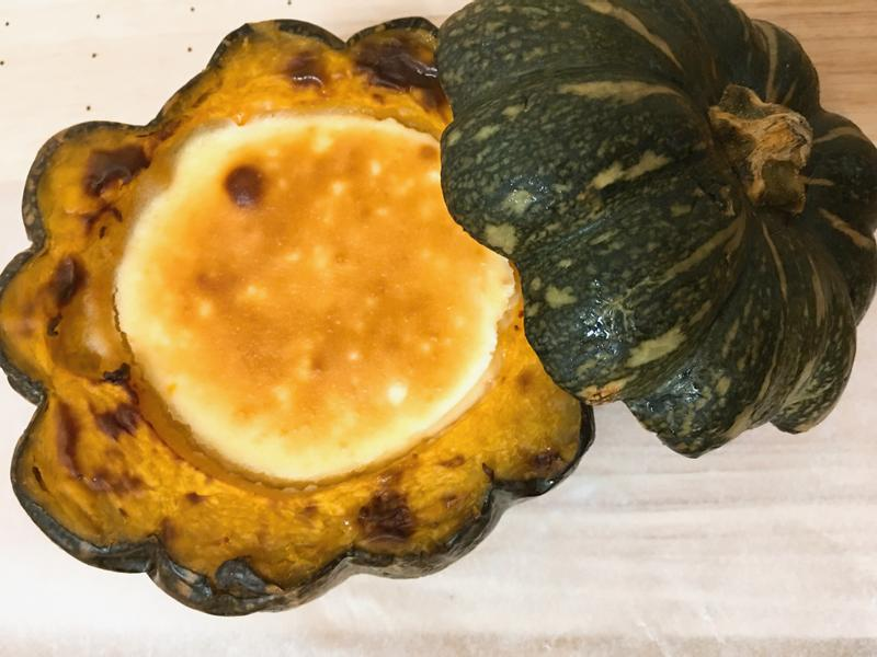 飛利浦氣炸鍋》南瓜巴斯克乳酪蛋糕,社頭店