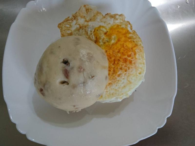 芋頭饅頭夾蛋-全國電子新店民權店萬用鍋