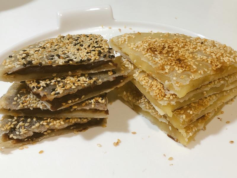 香酥豆沙餅-使用伊思尼奶油烏豆沙/綠豆沙