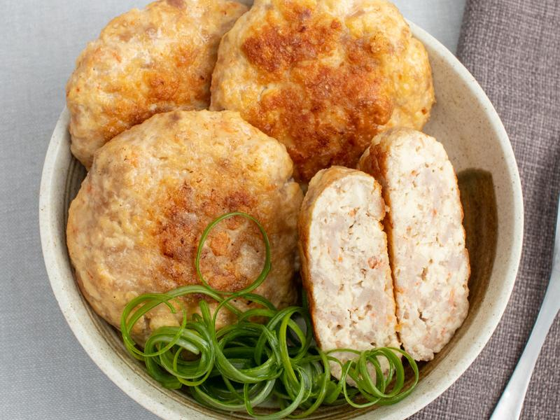 鮮肉豆腐蝦堡
