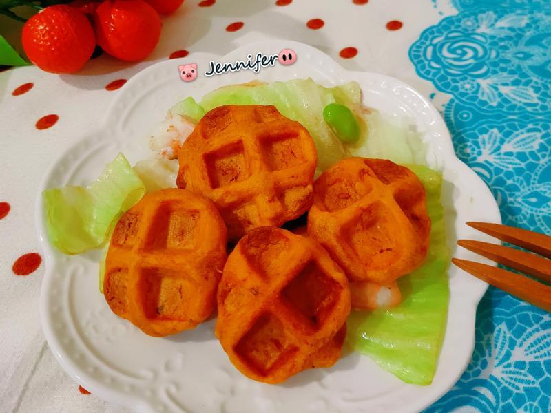 地瓜Q餅(鬆餅機料理)(低蛋白料理)