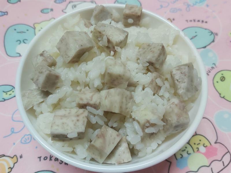 芋頭飯~中華二店-2~飛利浦氣炸鍋