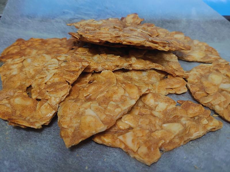 低糖低油杏仁瓦片