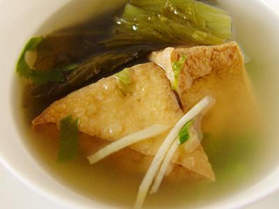 【厚生市集】酸菜油豆腐湯