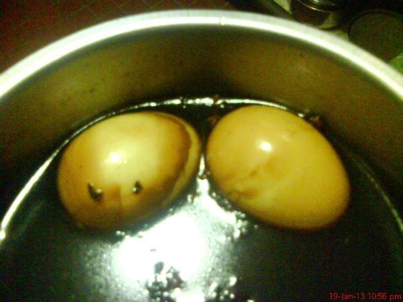 萬家香大吟釀薄鹽醬油料理食譜--茶葉蛋