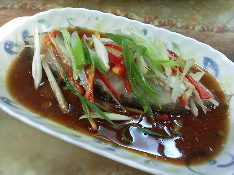 品靚上菜-「大吟釀薄鹽醬油」清蒸鱈魚