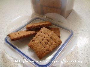【阿不's廚房】小烤箱做天然清香的全麥消化餅乾(附大烤箱)