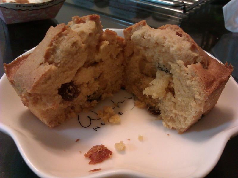 焦糖葡萄乾蛋糕