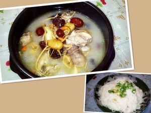 栗子人蔘雞湯