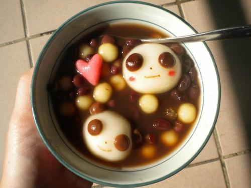 造型湯圓-貓熊湯圓&肉球湯圓