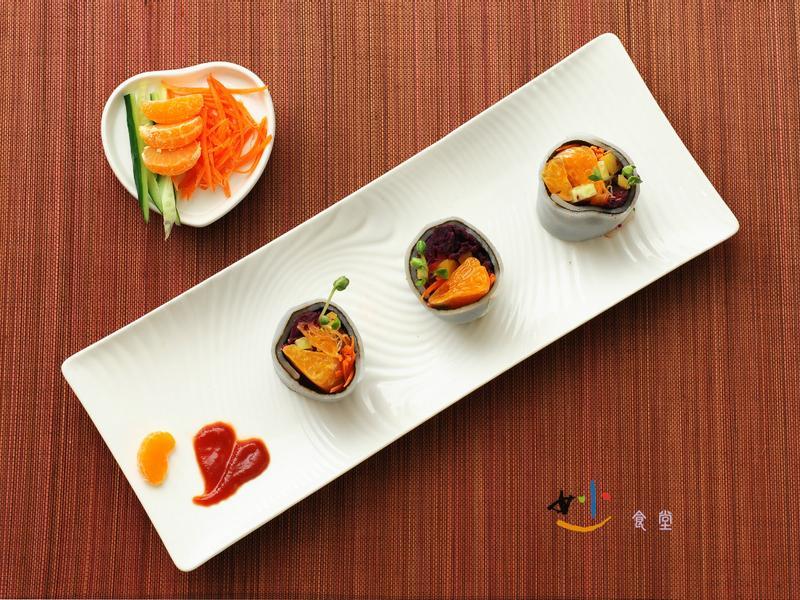蜜柑紫地瓜捲-妙食堂