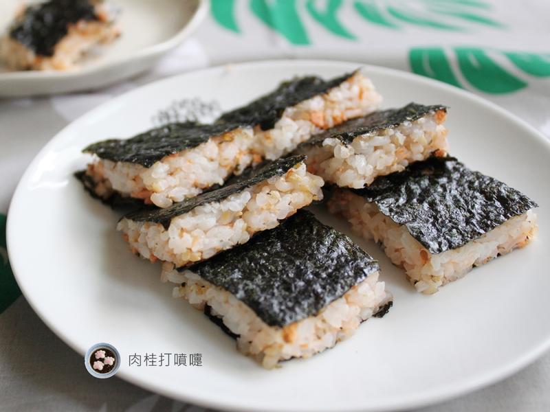 【肉桂打噴嚏】海苔風味烤飯捲♫
