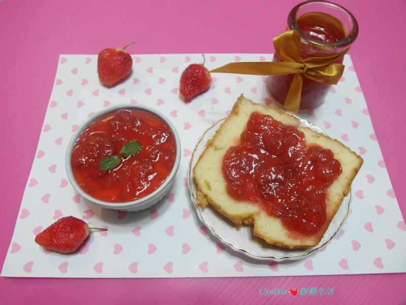 【草莓紅酒果醬】Cynthia廚藝生活