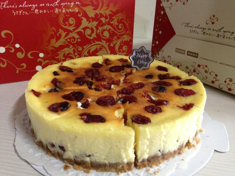 蔓越莓重乳酪蛋糕..