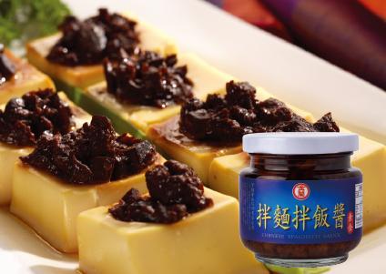 【金蘭】輕食料理類-拌麵醬燒雞蛋豆腐