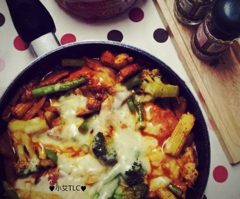 ♥小艾TLC♥韓式辣炒雞排【達卡比닭갈비】