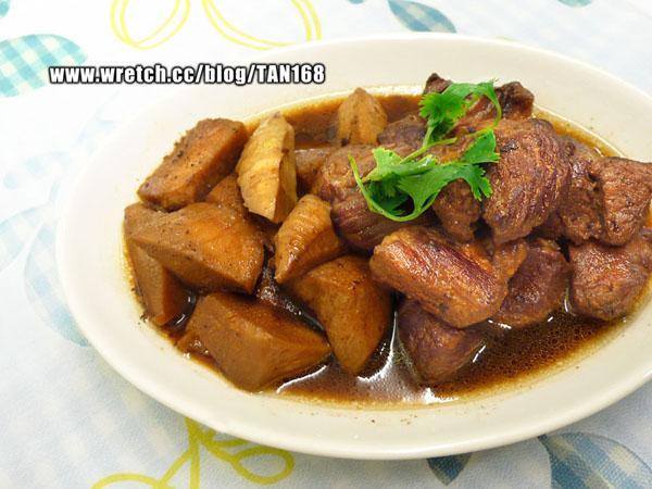 小肥豬紅燒麻竹筍 《燒肉+Vegi 4》