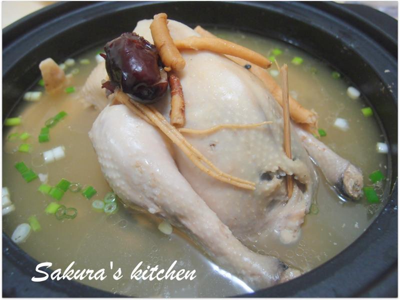 ♥我的手作料理♥韓式人參雞湯