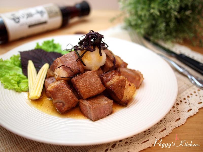 《Peggy廚房》骰子牛排佐肉汁奶油醬