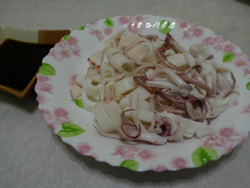 清燙小卷魷魚