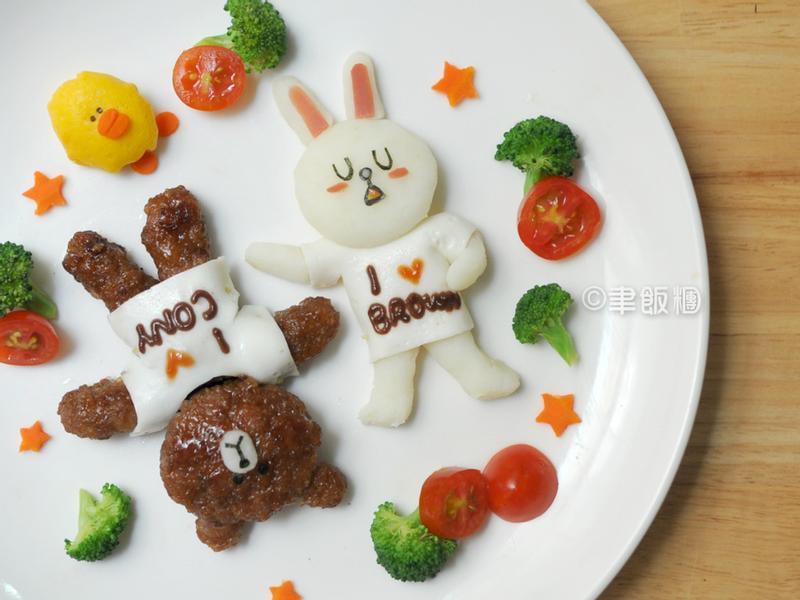 【親子食堂】熊大&兔兔