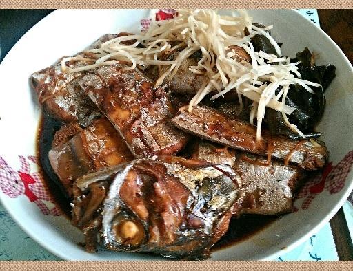 和風滷煮白帶魚