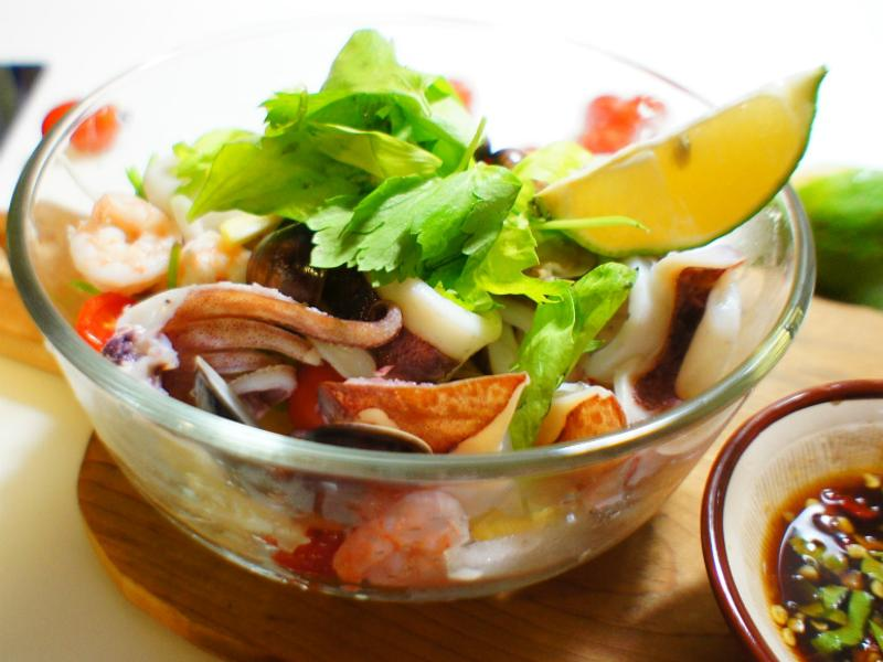 零廚藝泰式涼拌海鮮