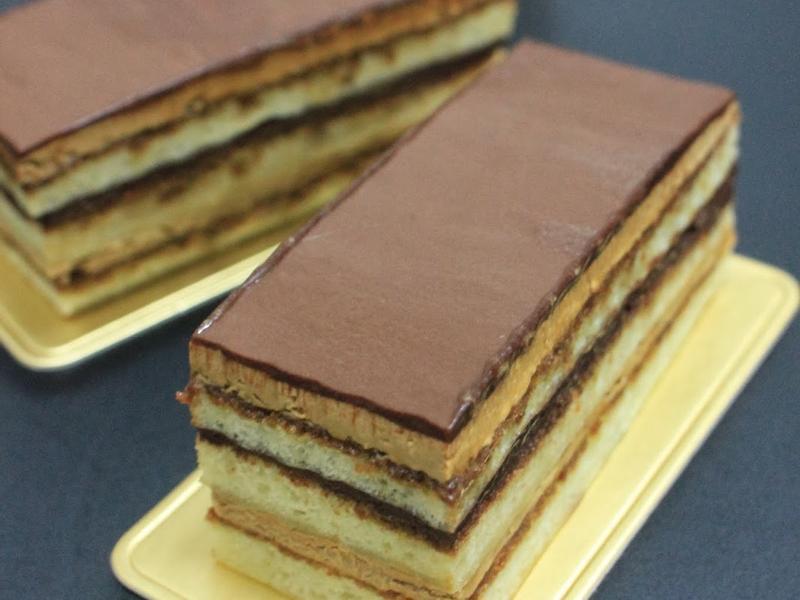 Opera cake 歌劇院蛋糕