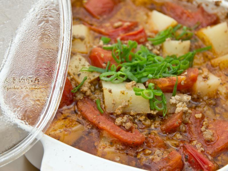人妻的廚房--義式蕃茄肉醬