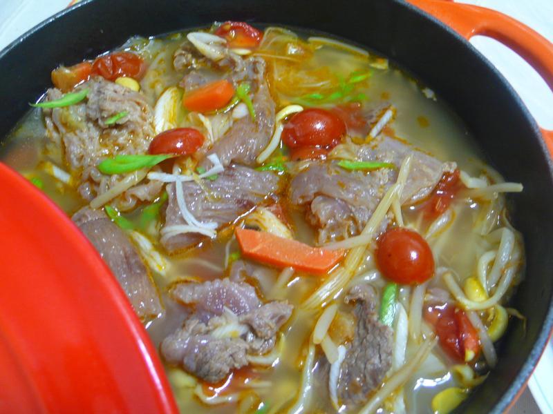 lanni  牛筋蔬菜湯