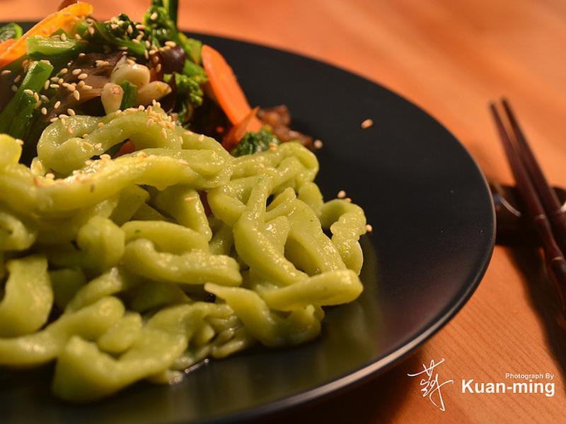 【差不多食譜】手工油菜麵條 Rapeseed Noodles