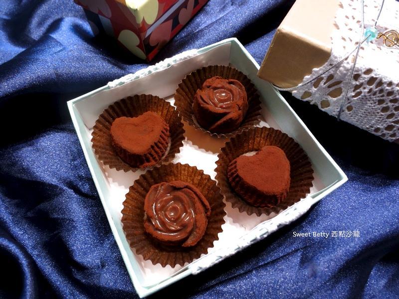 情人節~百香果巧克力
