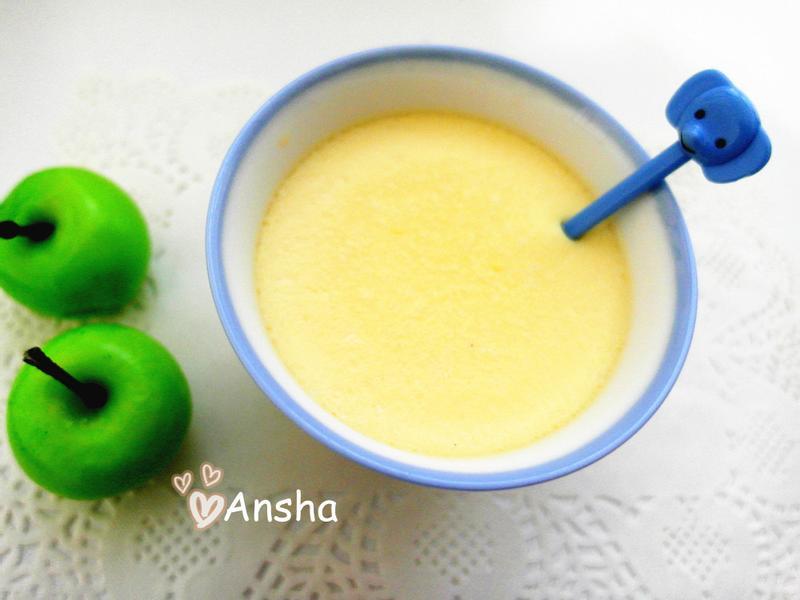 寶寶食譜 - 牛奶布丁