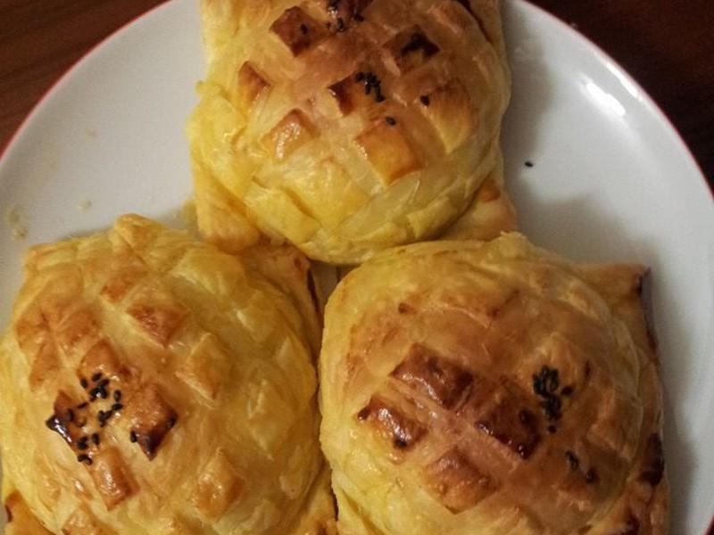 起酥奶酥麵包【烘焙展食譜募集】