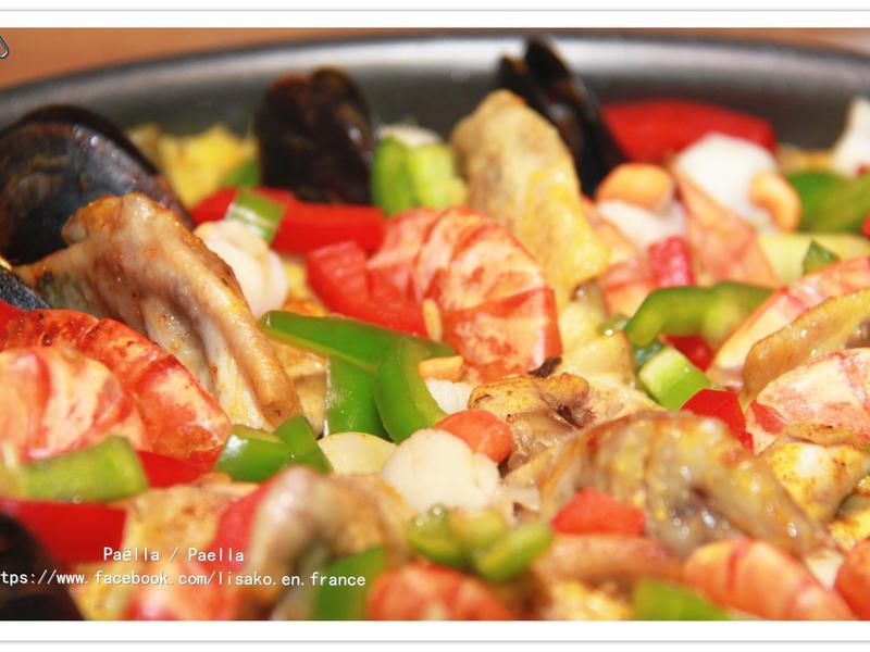 西班牙海鮮鍋飯 Paella
