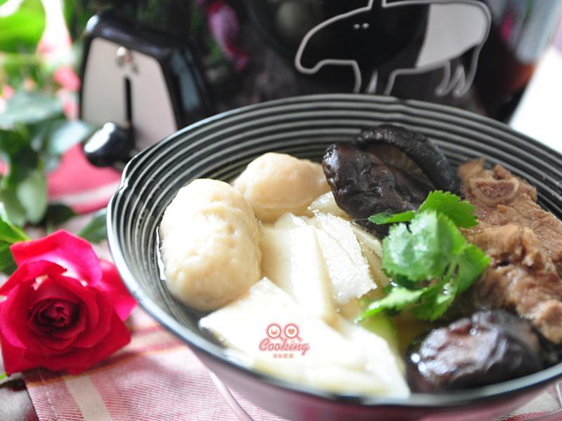 【我與大同的美味燉湯】鮮筍魚丸燉排湯
