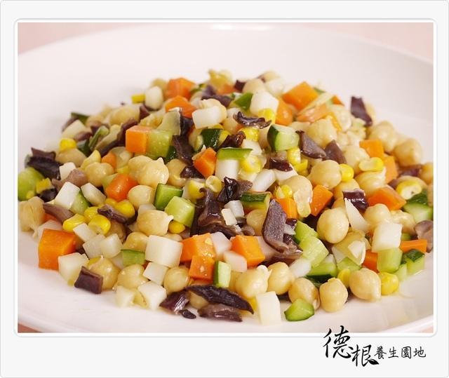 雪蓮子(雞豆) 炒五色