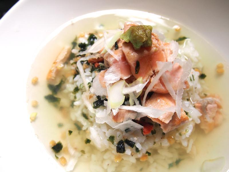 鮭魚茶泡飯