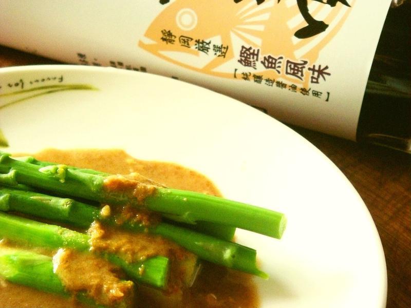麻醬蘆筍【淬釀日式下午茶點】