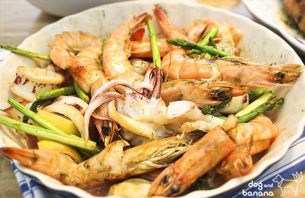 西班牙風情烤海鮮盤