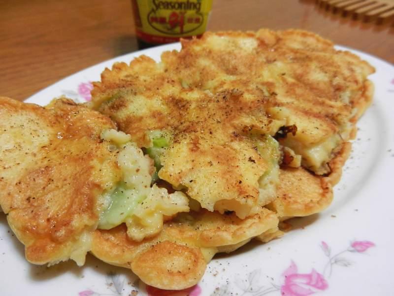 絲瓜煎餅【美極鮮味露】