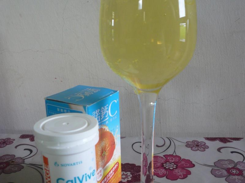 蘆薈氣泡C凍飲─『諾鈣C發泡錠』
