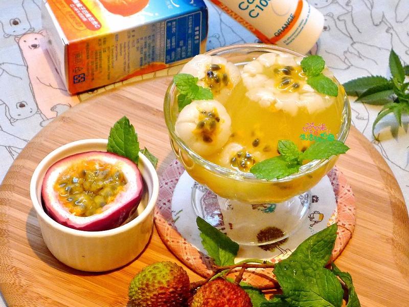 荔枝鮮果凍杯【諾鈣C發泡錠】
