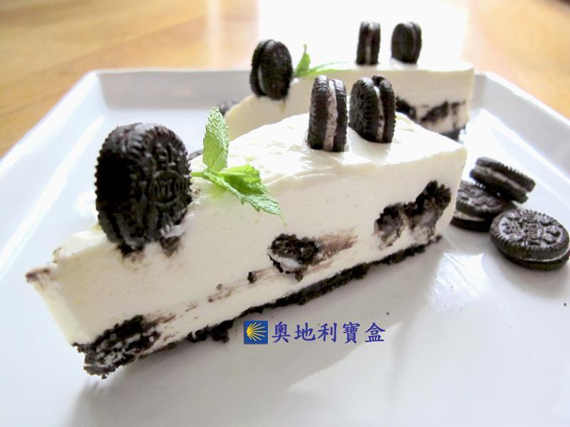 OREO奶酪蛋糕 [無蛋 免烤]