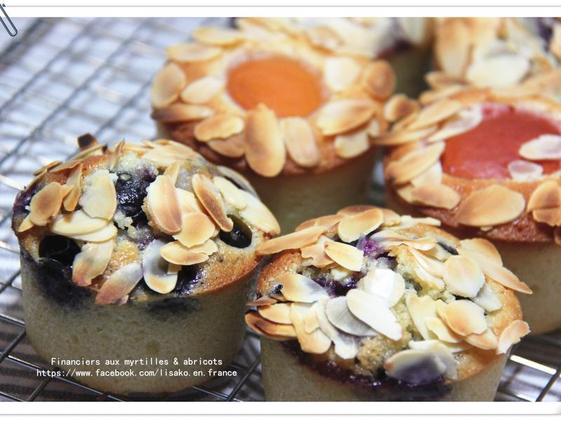 費南雪 (藍莓/杏桃/桑椹)